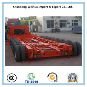Good Price 8 Axles Low Bed Truck Trailer with High Quality pictures & photos