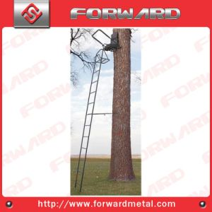 16′ Ladder Stand or 20′ High Seat or Deer Stand or Hunting Equipment with Shooting Rail pictures & photos
