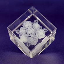 Laser Engraver Portable 3D Crystal Laser Engraving Machine Price Hsgp-4kb pictures & photos