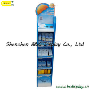Professional Skin Care Corrugate Cardboard Paper Display for Promotional Products Display (B&C-A082) pictures & photos