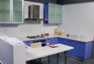 Baked Paint Kitchen Cabinet (M-L90) pictures & photos