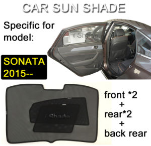 Breathable Mesh Fabric Sonata Sunshade, Foldable Steel Wire Framed pictures & photos