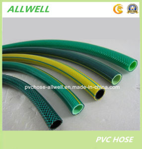 "1"" PVC Flexible Reinforced Braided Water Hose Pipe for Water Garden Irrigation (AW-GH-1"") pictures & photos"