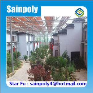 Lowest Price PC-Sheet Greenhouse for Ecological Restaurant pictures & photos