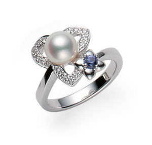 Fashion Design Jewelry 925 Sterling Silver Ring with Rhodium Plating and AAA CZ