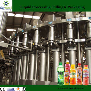 Automatic Mango Juice Making Machine/500ml Plastic Bottles Packing pictures & photos
