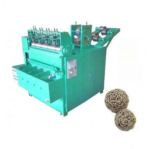 Automatic Steel Spiral Scourer Knitting Machine (QD-3A)