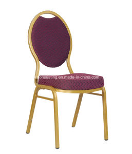 Metal Stacking Stackable Padded Banquet Dining Room Chair (5001) pictures & photos