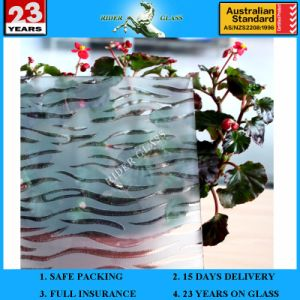 3-6mm Am-23 Decorative Acid Etched Frosted Art Architectural Glass pictures & photos