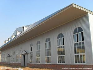 Fast Assembled Prefabricated Steel Structure Industrial Building (Steel Frame) pictures & photos
