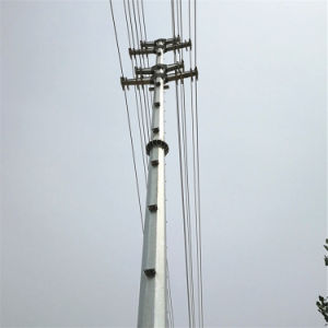 Steel Poles Antenna Monopoles Galvanized Communication Tower pictures & photos