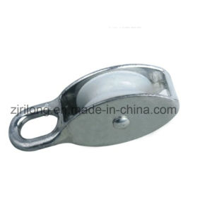 Zinc Alloy Fixed Pulley with Single Nylon Wheel Dr-502z pictures & photos