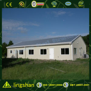 Lingshan Excellent Prefab House with ISO9001: 2008 (L-S-056) pictures & photos