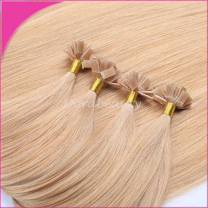 Natural Black U Tip Keratin Brazilian Remy Hair pictures & photos