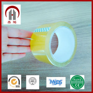 72mm*72m Transparent BOPP Packing Tape pictures & photos