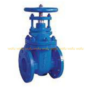 Cast Steel Flanged Gate Valves pictures & photos
