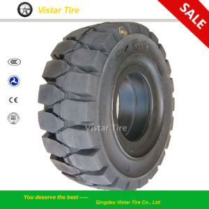 Non-Mark Solid Tyre, Forklift Tyre, Pneumatic Solid Tyre pictures & photos