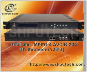 H. 264 HD Encoder/HDMI 4in1 MPEG-4 HD Encoder (SP-E5234I)
