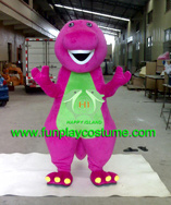 Hi En71 Barney The Dinosaur Costume