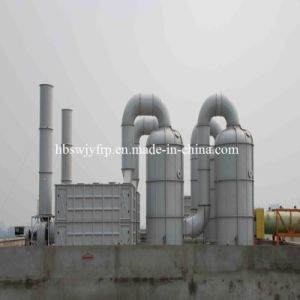 FRP GRP Flue Gas Desulfurization Tower Scrubber pictures & photos