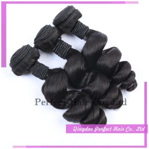 Wholesale Virgin Remy Brazilian Loose Curl Hair pictures & photos