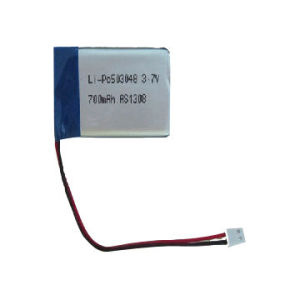 3.7V 700mAh 503048 Rechargeable Lithium Polymer Batteries pictures & photos
