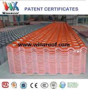 Wins Long Color Last PMMA Synthetic Resin Roof Brick Red Color pictures & photos