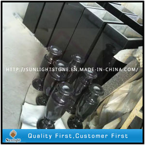 Absolute Shanxi Black Granite Tombstone/Headstone/Monument Flower Vase pictures & photos