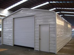 Made in China Prefabricated Steel Structure Storage Shed (KXD-SSW36) pictures & photos