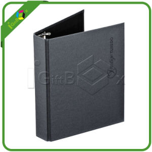 Hot Sales Black Cardboard Business A4 File Folder 4 Ring Rinder pictures & photos