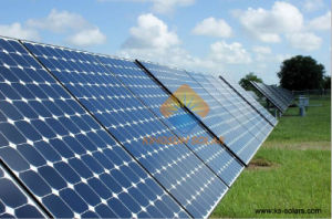 5W-115W Monocrystalline Silicon Solar Panel for off Grid Solar Power System pictures & photos