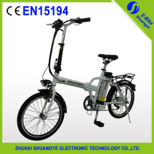 Classical Simple Style Folding Electric Bicycle (A3-AM20) pictures & photos