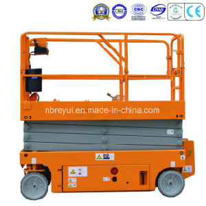 Auto-Travel Scissors Aerial Working Platform pictures & photos