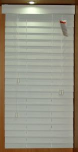 50mm PVC Foamwood Venetian Blinds Horizontal Window Covering pictures & photos
