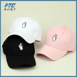 OEM Cotton Gesture Sport Baseball Caps with Logo Custom pictures & photos