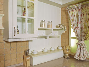 Ready Made PVC Kitchen Furniture (zc-052) pictures & photos