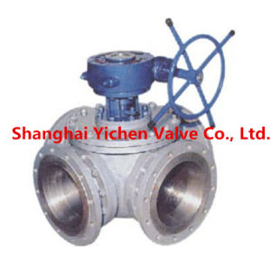 Manual Operation Flanged Cross Ball Valve (Q646F) pictures & photos