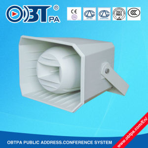 Obt-314 Outdoor PA System Paging & Music Projection Horn Speaker 100V 50W ABS