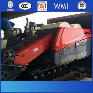 Muddy Land Designed 4lz-2.3 Paddy Rice Harvest Machine pictures & photos
