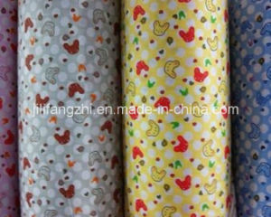 100%Cotton Polycotton White Dyed Printed Flannel