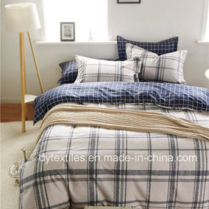 British Style Ikea Stripe Simple 100 % Cotton Bedsheets Set pictures & photos