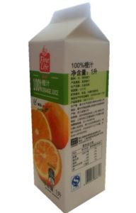 1L Orange Juice Gable-Top Carton with Caps pictures & photos