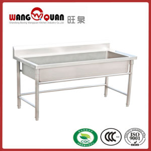 Commercial Kitchen Stainless Steel Sink with Big Bowl pictures & photos