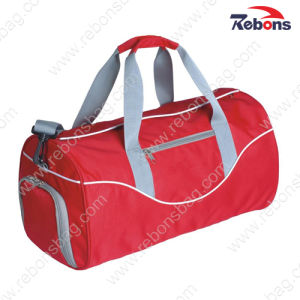 Red Athletic Sports Travel Bag with Shoe Compartment pictures & photos
