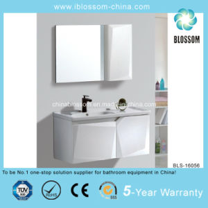 Bathroom Vanity with Ceramic Basin and Two Doors (BLS-16056) pictures & photos