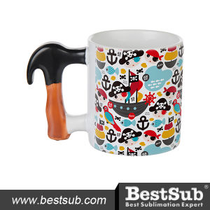 Js Coatings Sublimation Mugs 11oz Hammer Handle Mug B1FT pictures & photos