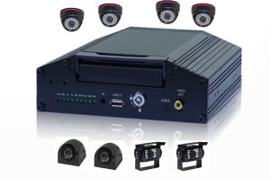 Vehicle 4G Mobile DVR Recorder 8CH Car DVR GPS Camera System with 3G WiFi pictures & photos