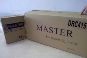Duplo Drc415A4 Digital Duplicator Master Roll pictures & photos