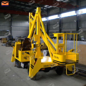 Four Wheels Articulated Work Platform pictures & photos