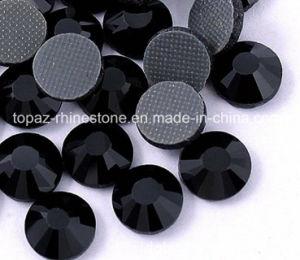 Jet Black Korean Rhinestone Heat Transfer Rhinestone Fashion Accessories (HF ss10 jet black) pictures & photos